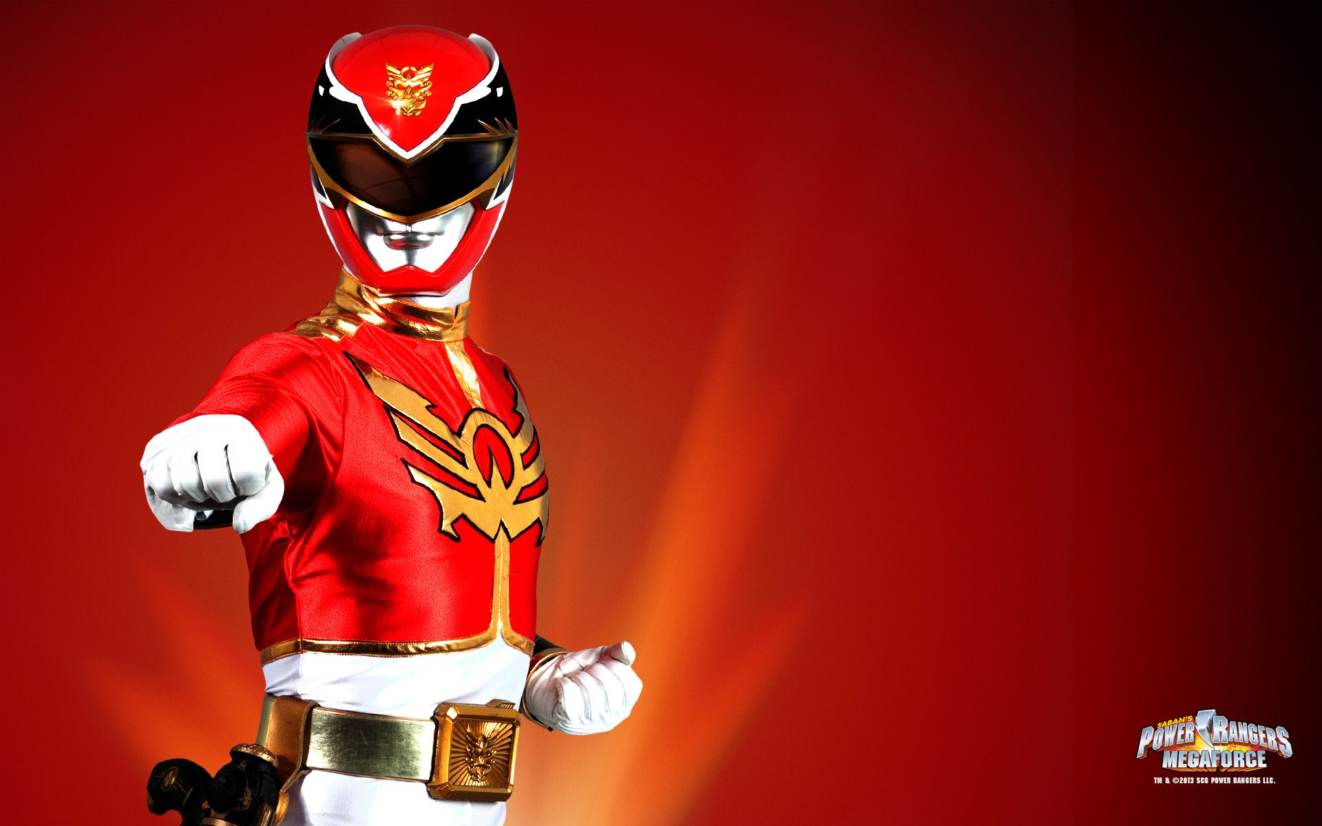 Red Ranger Megaforce Wallpaper  Power Rangers Pinterest