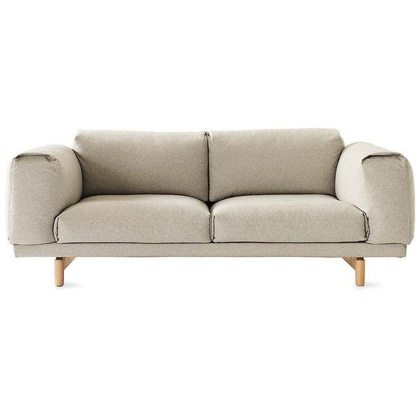 Anderssen and Voll Rest Two-Seater Sofa (4,995 CAD) ❤ liked on Polyvore featuring home, furniture, sofas, house and sofa