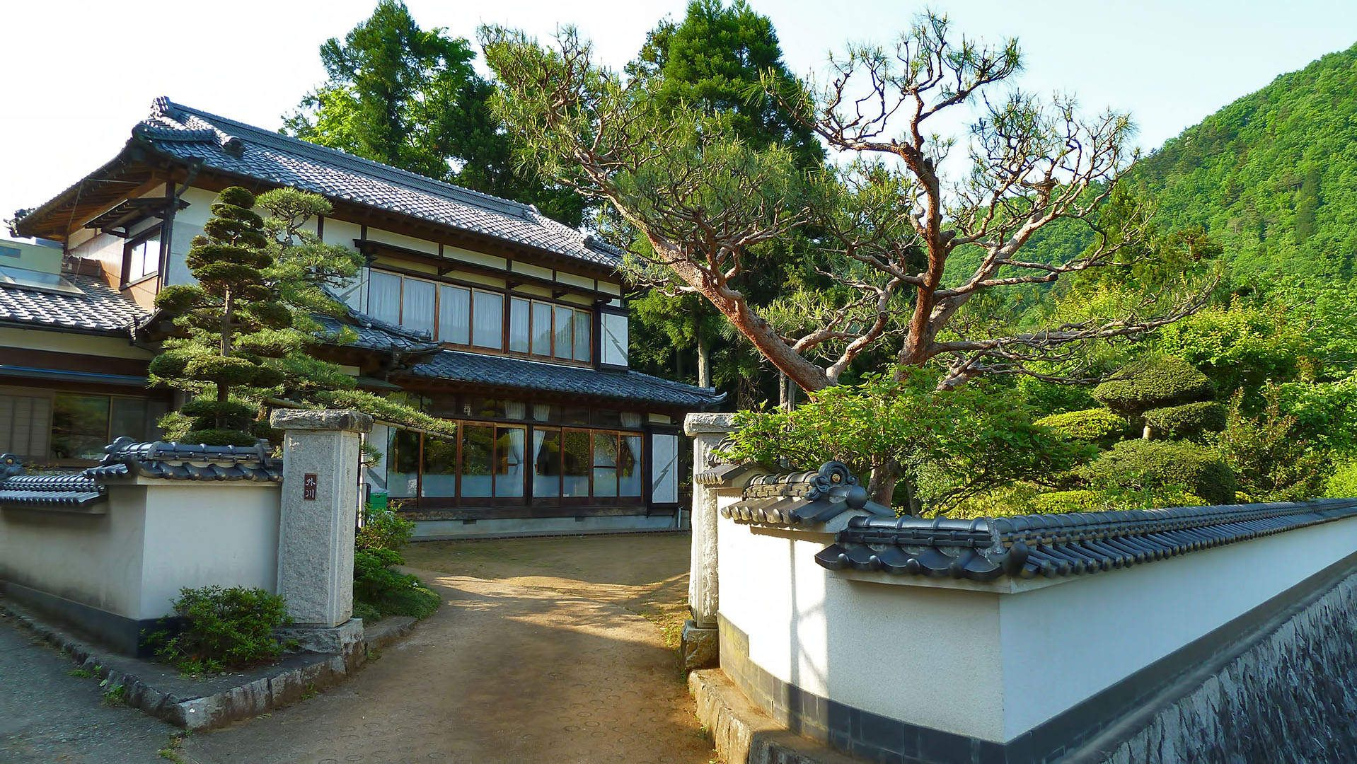 Traditional japanese house traditional japanese house for Conventional homes
