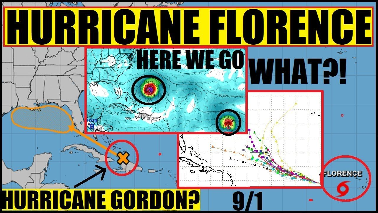 Update Hurricane Florence Closer Then We Thought September 11th Gulf Prepares Youtube Hurricane Hurricane Preparedness Florence