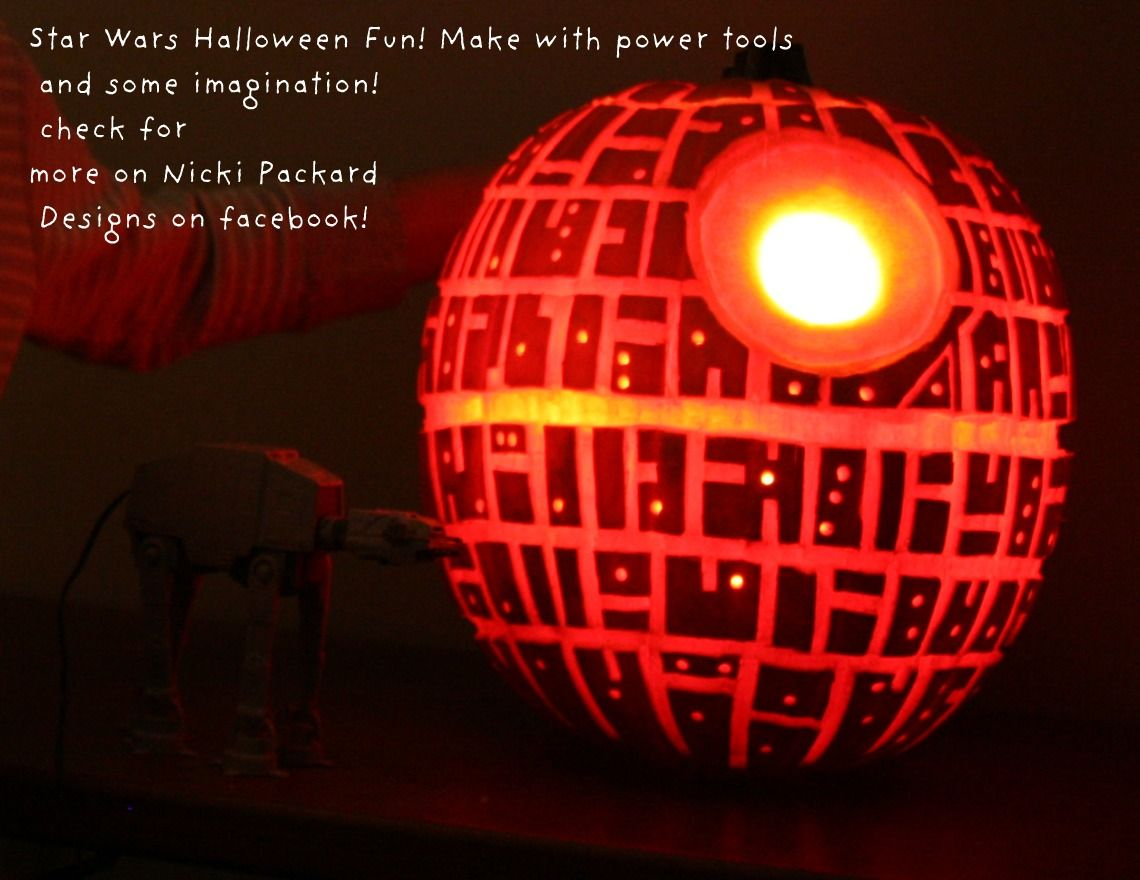 Forum on this topic: How to Make a Death Star Pumpkin, how-to-make-a-death-star-pumpkin/