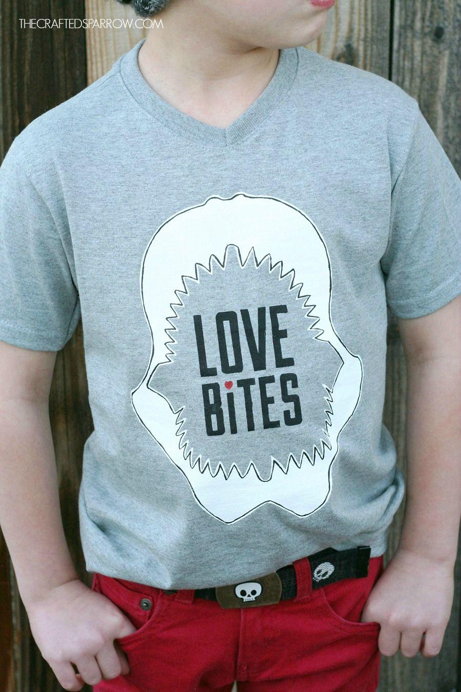 diy boys valentines shirt - Boys Valentines Shirt