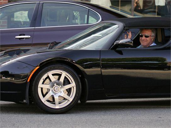 Bill Maher's car