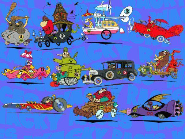 Wacky Races Los Autos Locos Autos Locos Dibujos Animados Animes Antiguos