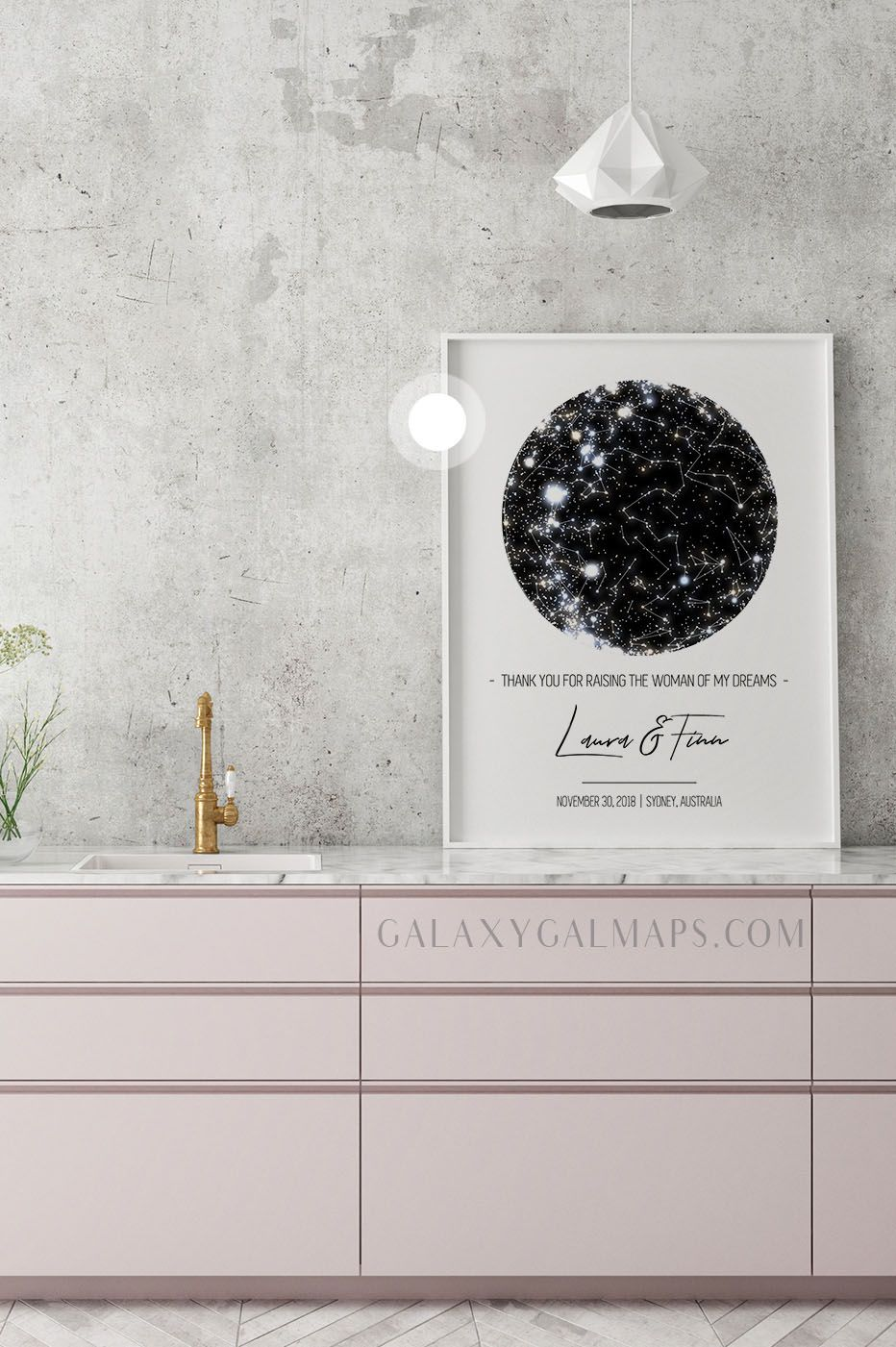 Limited Time Only Unique Star Chart By Date And Place Mom From Daughter One Year Anniversary Gifts Anniversary Gifts For Couples 40th Anniversary Gifts