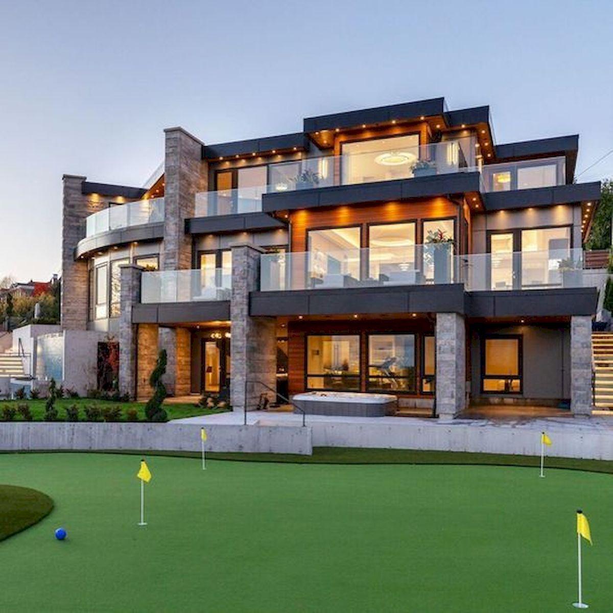 Nice 40 Stunning Mansions Luxury Exterior Design Ideas Https Livingmarch Com 40 Stunn Luxury Homes Dream Houses House Designs Exterior Luxury Exterior Design