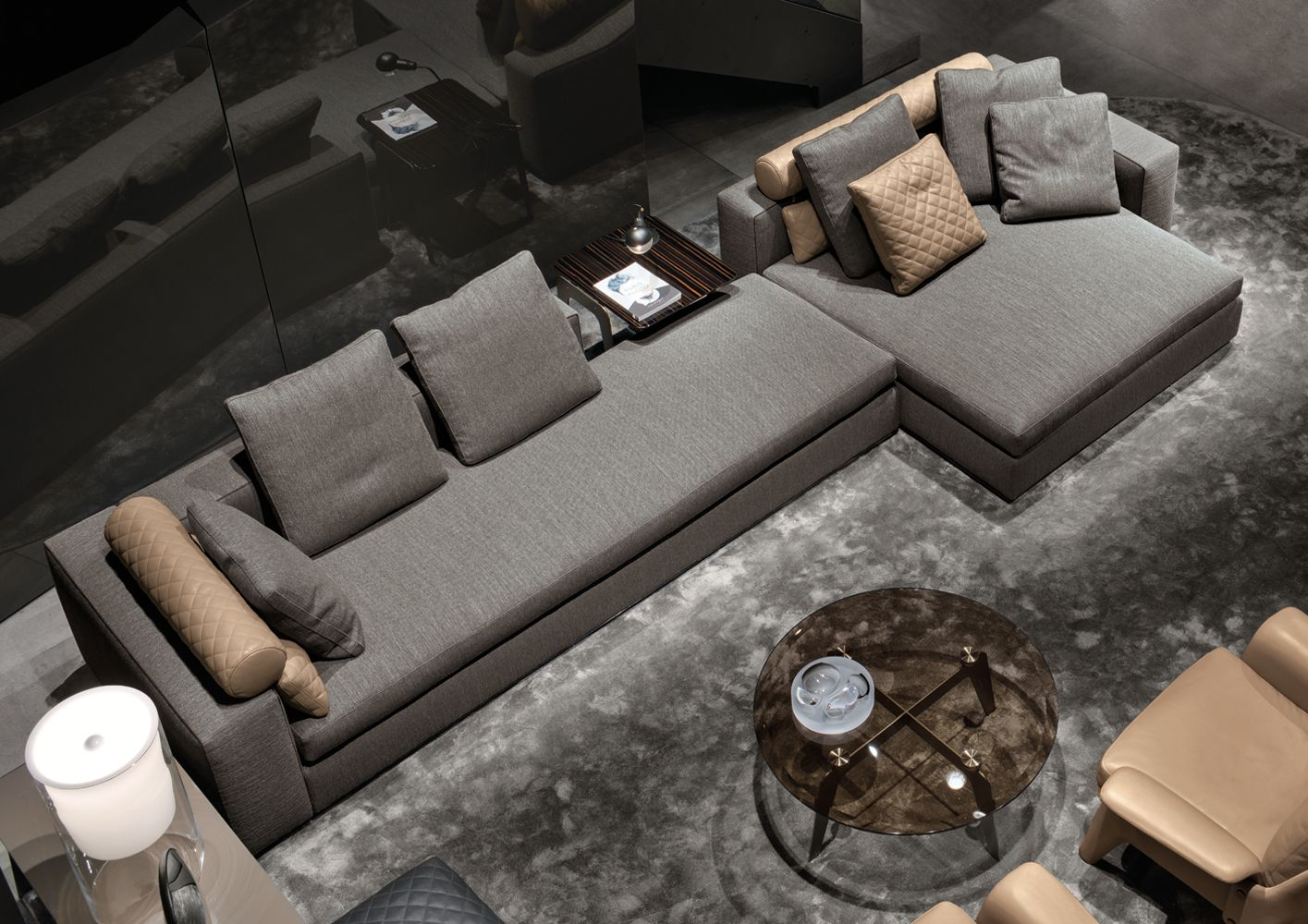 Minotti Ipad - LEONARD  DIVANI - IT  int  Pinterest  소파, 침대 및 가구