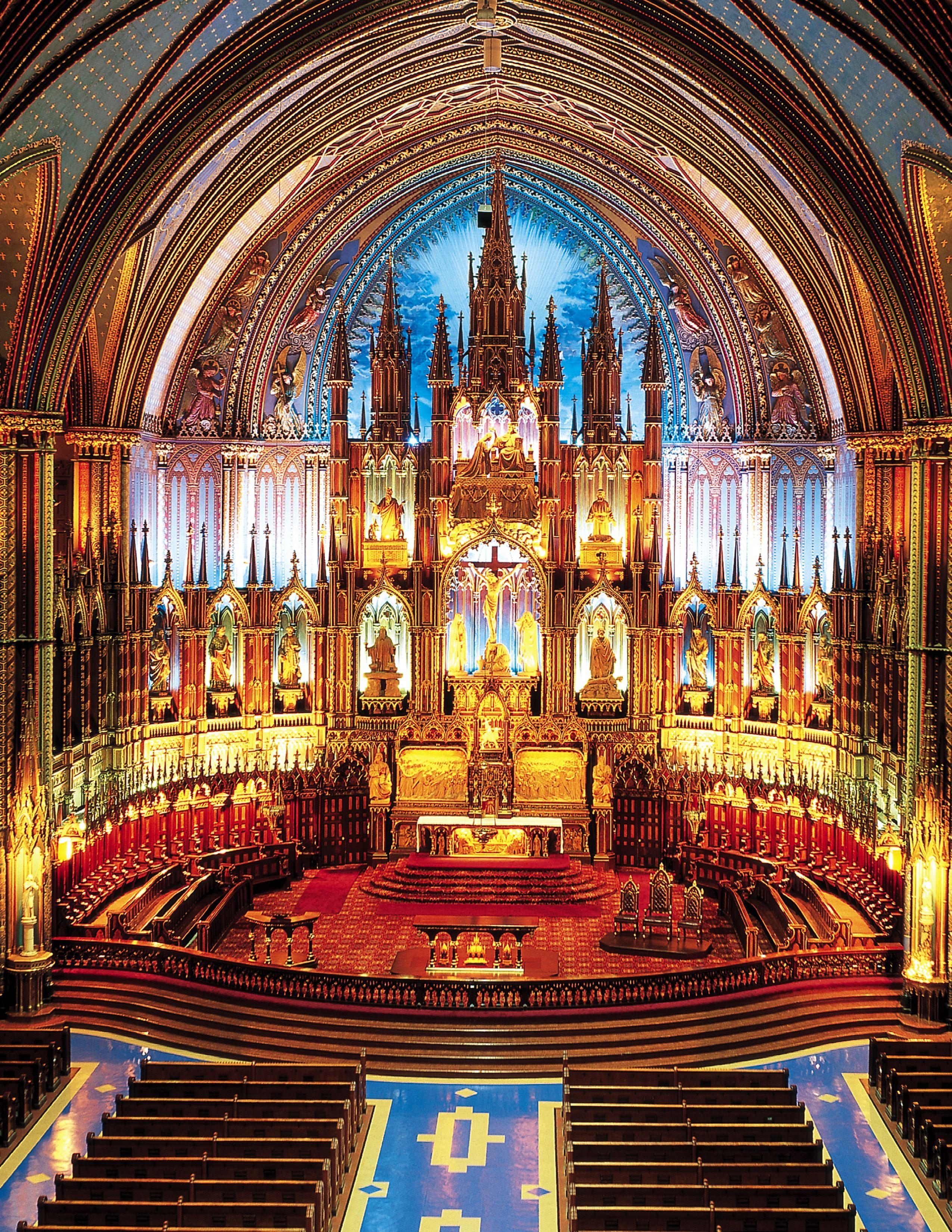 Notre-Dame Basilica - Basilique Notre-Dame: The oldest