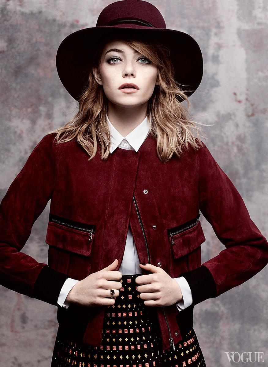 87188649c35e8 Emma Stone Vogue Cover   Fashion and Runway   Pinterest   Emma Stone ...