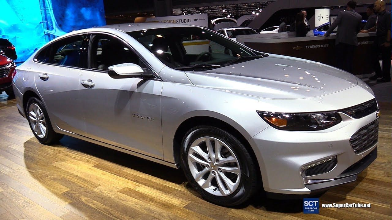 2017 Chevrolet Malibu Hybrid Exterior And Interior Walkaround