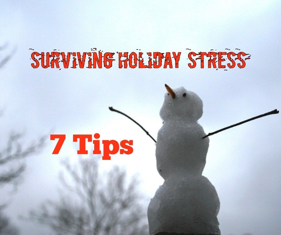 Surviving Holiday Stress 7 Tips for Recreation Therapists