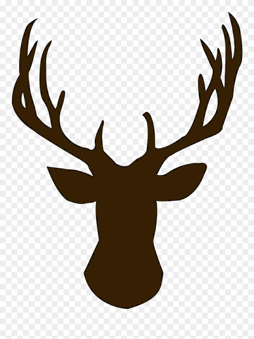 Foot Clipart Reindeer Deer Head Silhouette Png Transparent Png 380981 Is A Creative Clipart Do Deer Head Silhouette Deer Head Stencil Reindeer Silhouette