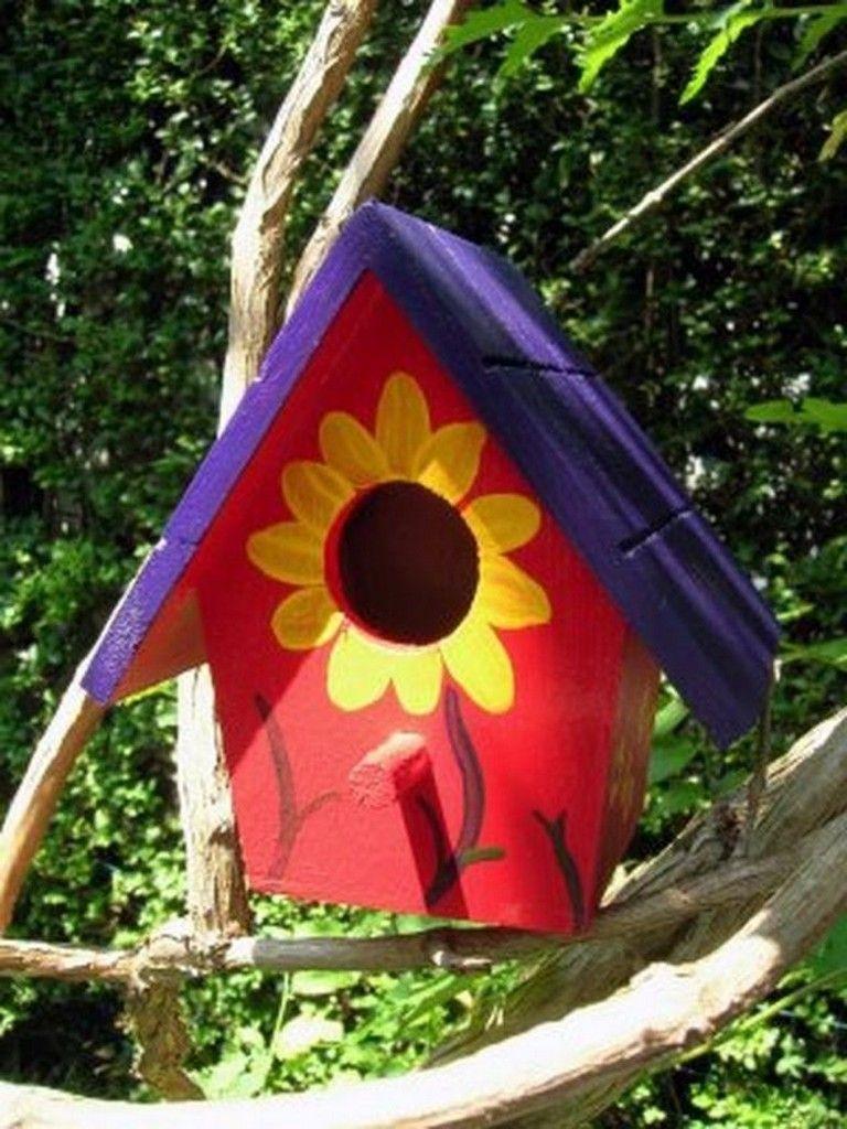105 Amazing Bird House Ideas For Your Backyard Decorations Bird Houses Painted Bird Houses Ideas Diy Homemade Bird Houses
