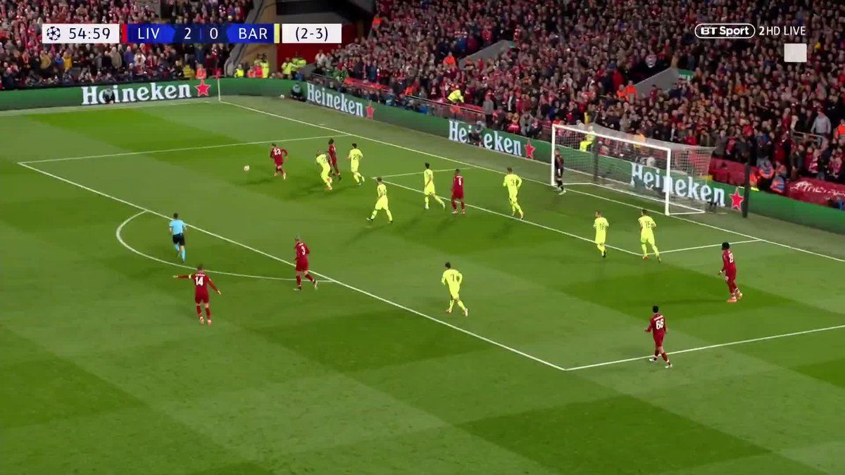 "Football on BT Sport on Twitter ""LIVERPOOL HAVE A THIRD"