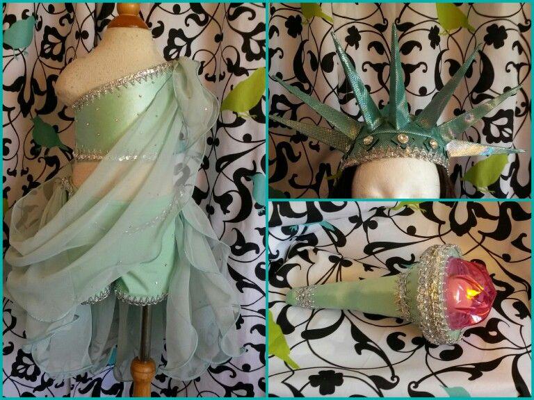 Statue of Liberty Prom Dress