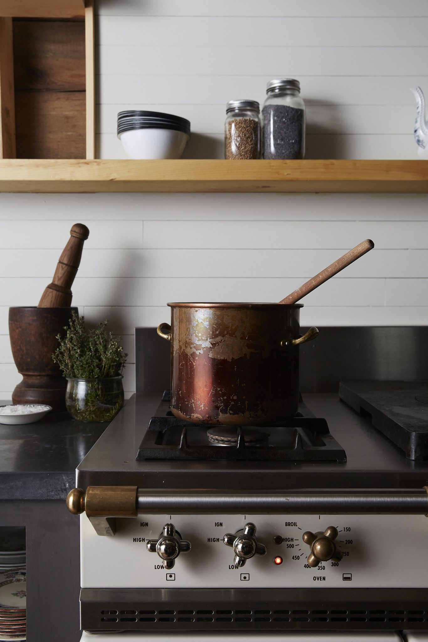 Chagny Range by Lacanche Greenwich CT - traditional - Kitchen ...
