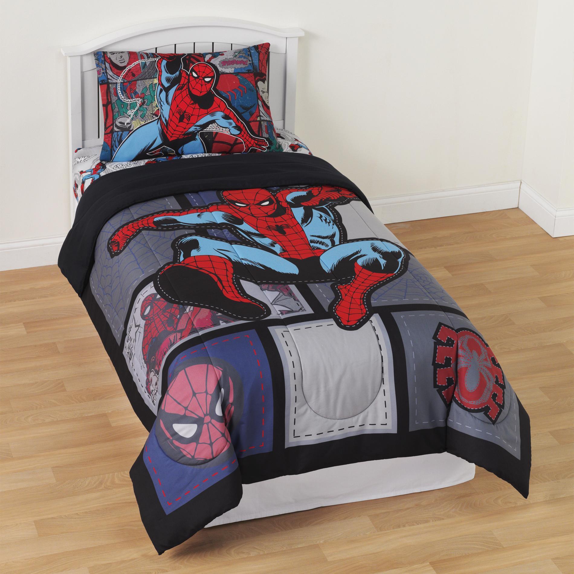 Marvel Comforter Spider Man Twin Comforter Comforters Bed