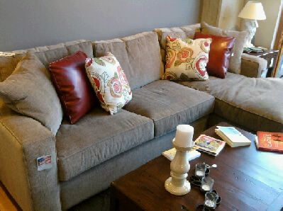 Grayson Sectional from Su Casa -- discontinued but great look : grayson sectional - Sectionals, Sofas & Couches