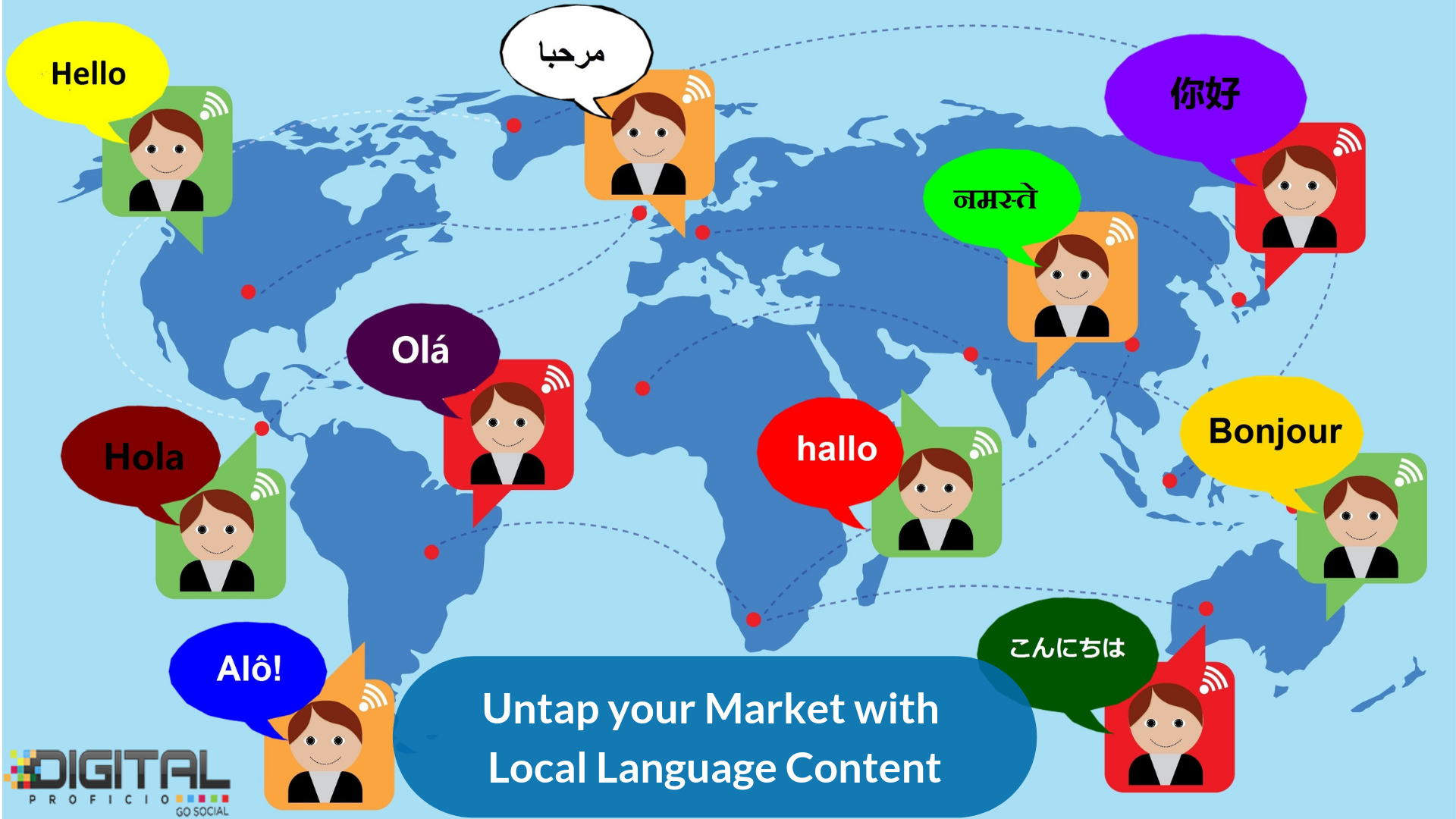 1 The World Is Very Diverse With Unique Different Languages 2 India Alone Has More Tha Online Digital Marketing Digital Marketing Digital Marketing Trends