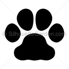 Bulldog Paw Print Silhouette Clip Art Download Free Versions Of