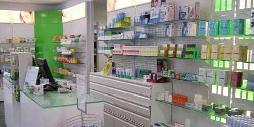 Estanterias con fondo troquelado para productos - Estanterias para perfumerias ...