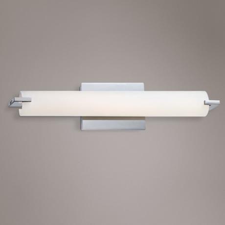 George Kovacs 20 1 2 Wide Chrome Led Bath Light W0952 Lamps