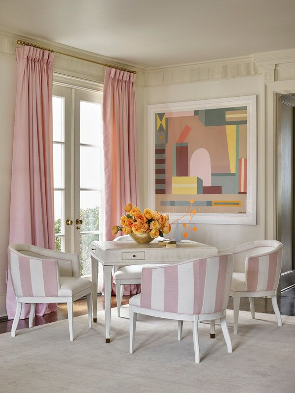 Paris Apartment Collection By Suzanne Kasler For Hickory Chair | D I N I N  G | Pinterest | Hickory Chair, Paris Apartments And Pink Houses