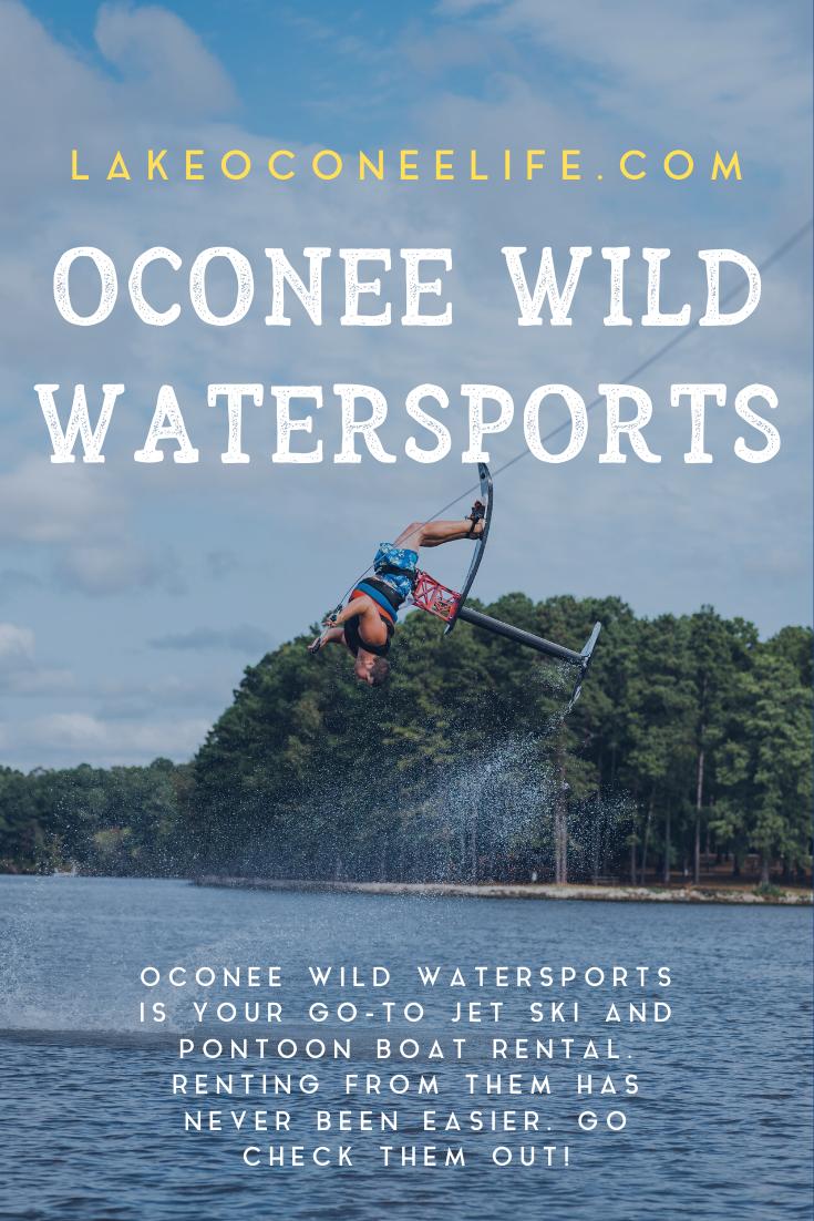 Oconee Wild Watersports Boat rental, Lake oconee, Water