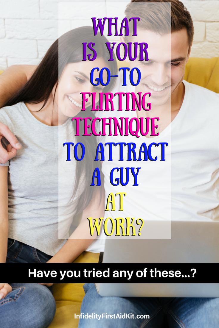 how to attract a guy at work
