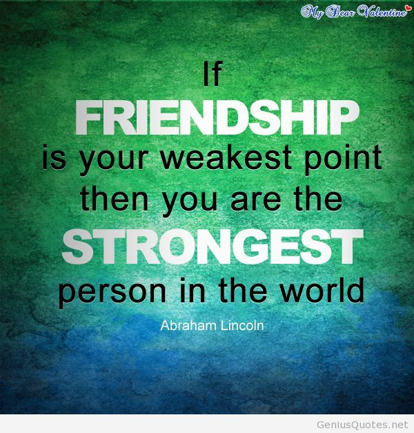 Quotes About Friendship Quote Wallpaper By Abraham Lincoln