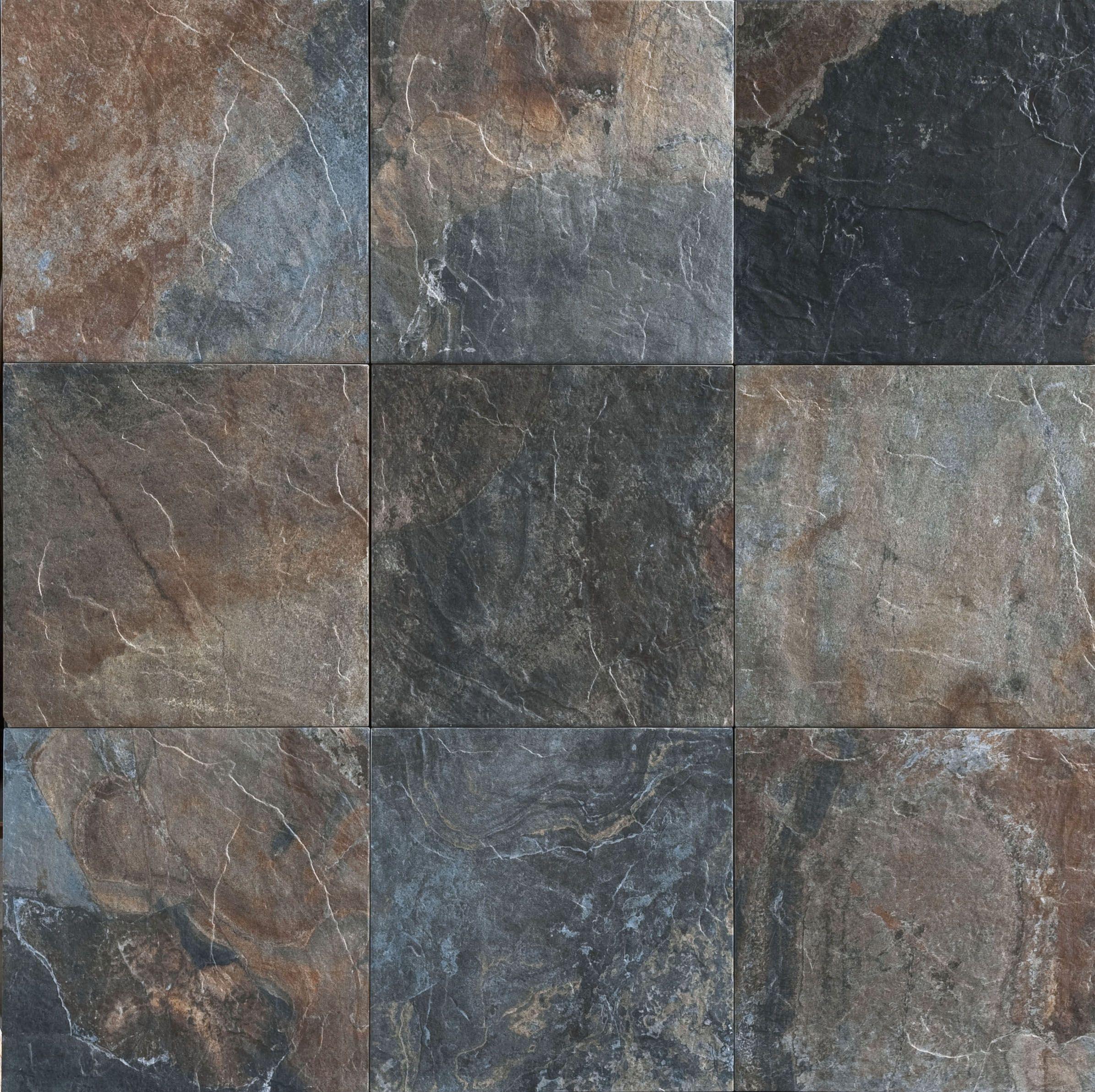 Black slate tiles bathroom pinterest slate concrete and woods black slate tiles doublecrazyfo Images