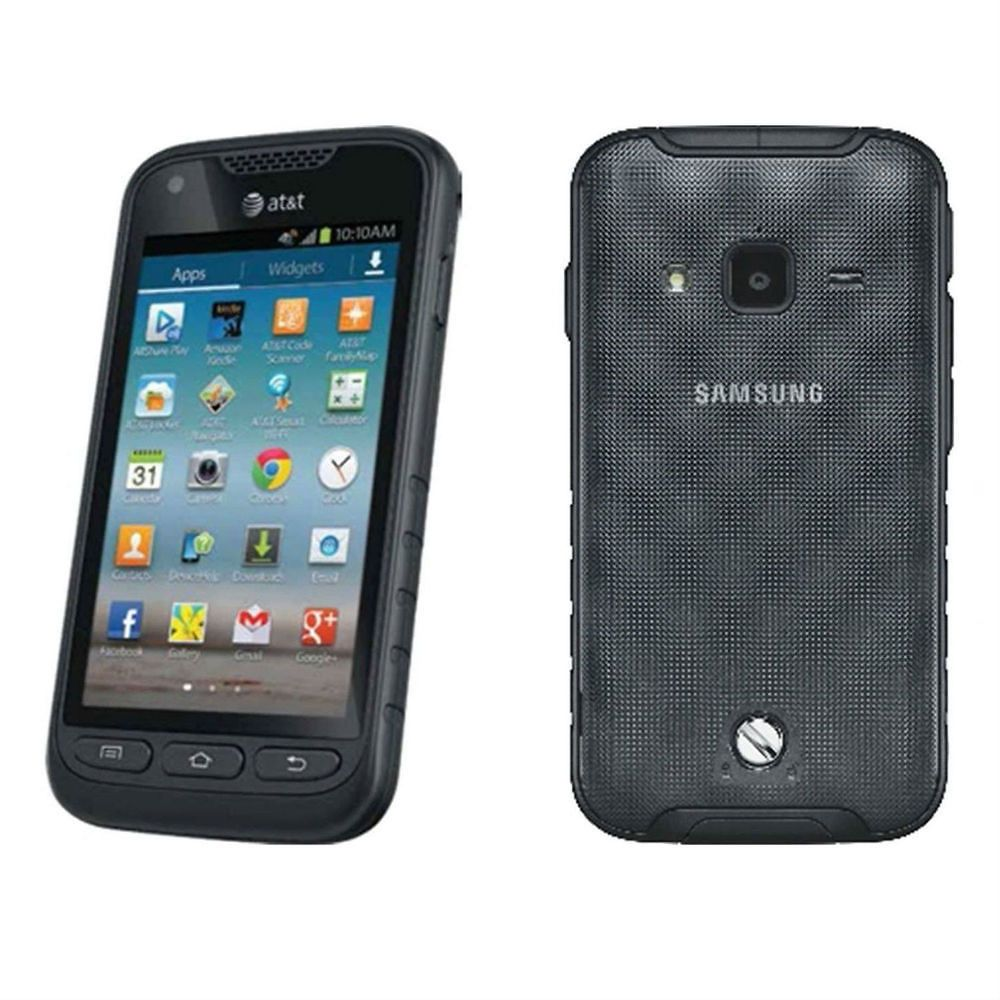 Samsung Galaxy Rugby Pro Rugged Android Pda Phone Unlocked Excellent In Box Condition Used Cell Phones Gsm