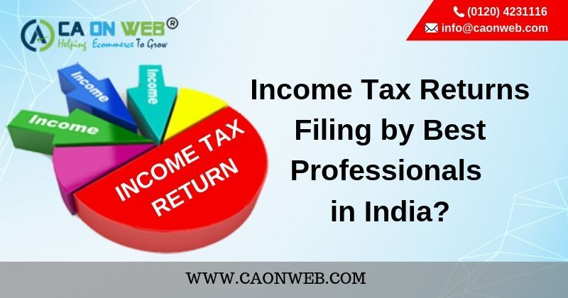 Income Tax Returns Filing By Best Professionals In India Income