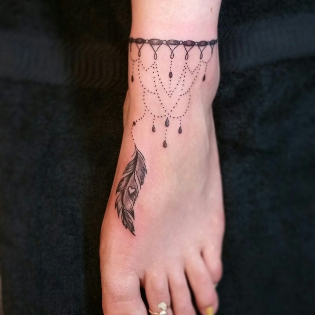 Tatuaje Para El Pie Mujeres Tatuajes Para Mujeres