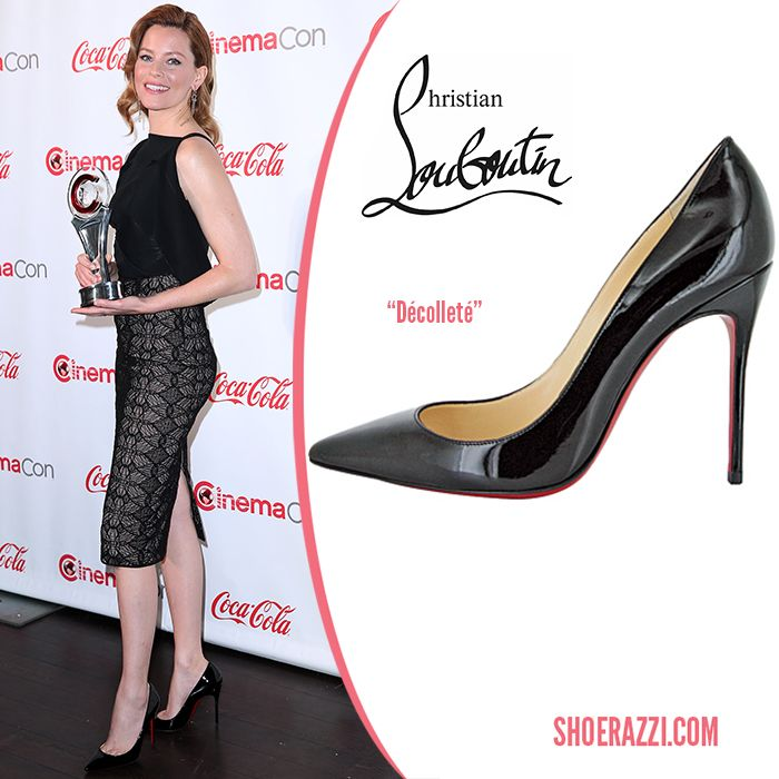 reputable site 4898b 7a65f Elizabeth Banks in Christian Louboutin