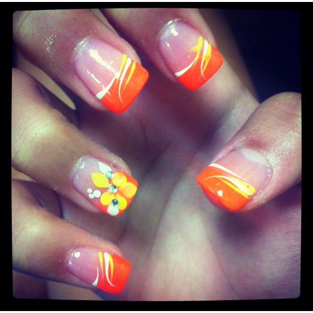 Acrylic nails(: