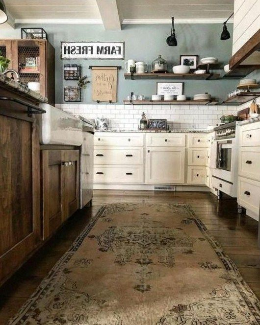 white kitchen cabinets wall color ideas to shine your kitchen in 2020 with images kitchen on farmhouse kitchen wall colors id=65869