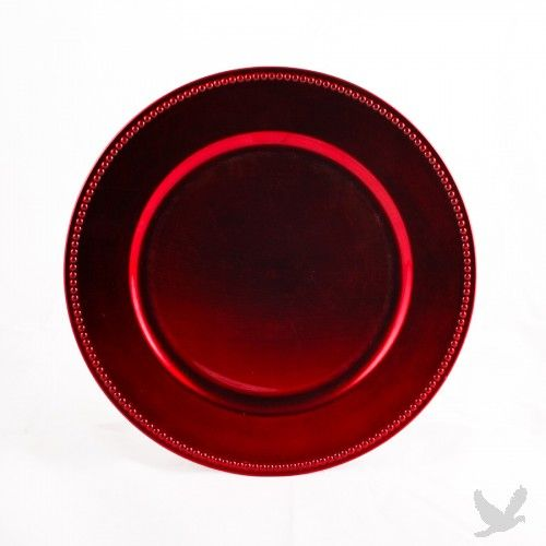 Red Charger Plates Charger Plates Personalized Party Decor Diy Wedding Supplies
