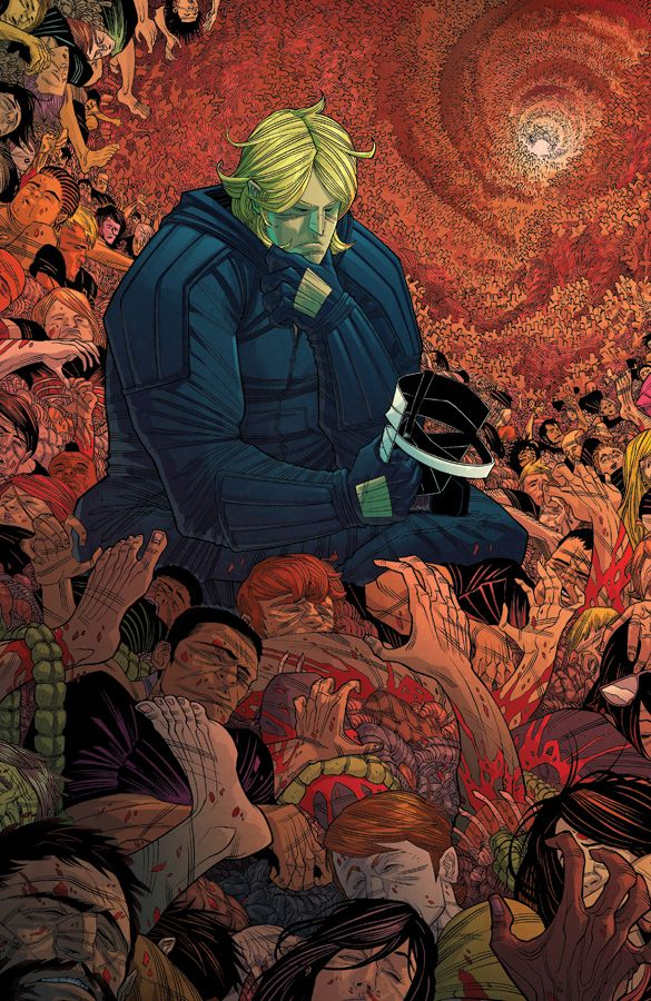 Cover art to The Strange Talent of Luther Strode #6, by Tradd Moore & Felipe Sobreiro