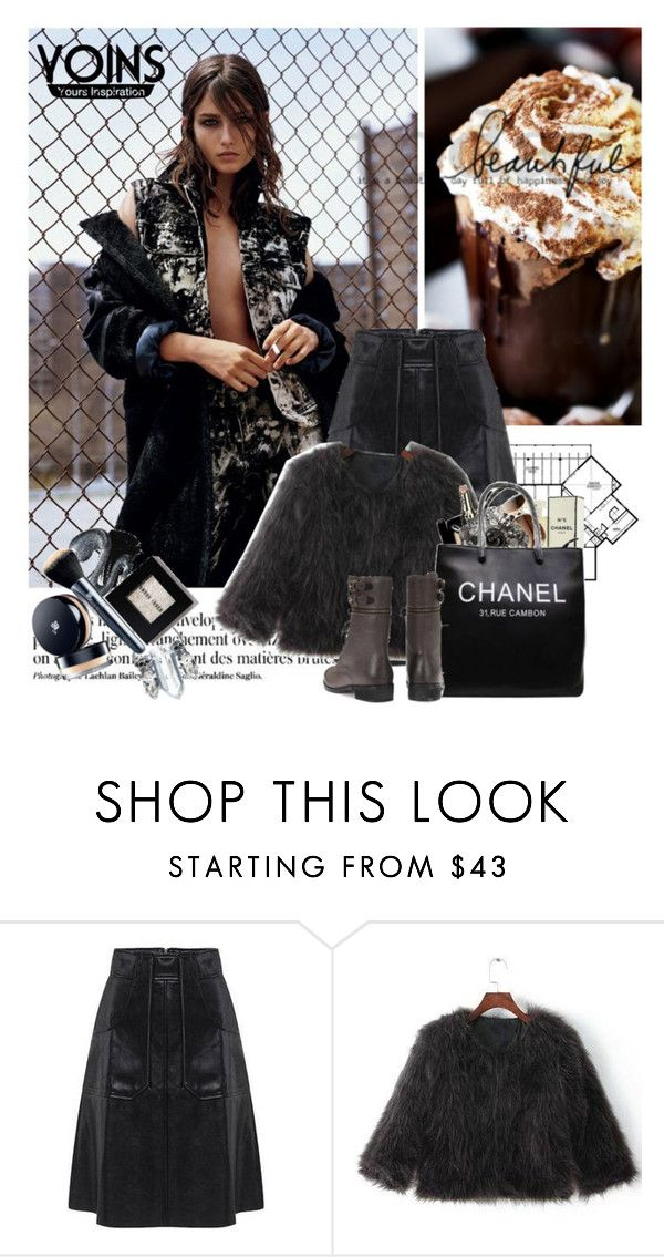 """Yoins12"" by elmaimsirovic ❤ liked on Polyvore featuring Anja, Alasdair, Chanel and yoins"