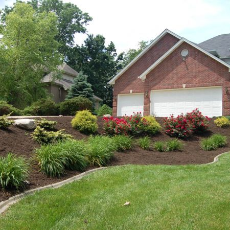 Front Of House Landscape Ideas Curb Appeal Driveways