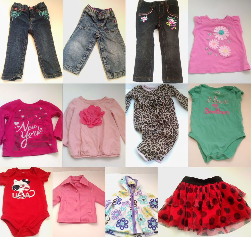 346aadeccfb0 Baby Girl Winter Clothes Lot Size 12 18 Months Pants