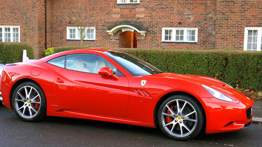 The Most Popular And Often Seen Ferrari Color Is The Rosso Corsa This Deep Red Is The Perfect Color For Your Fir Ferrari California Ferrari California Paints