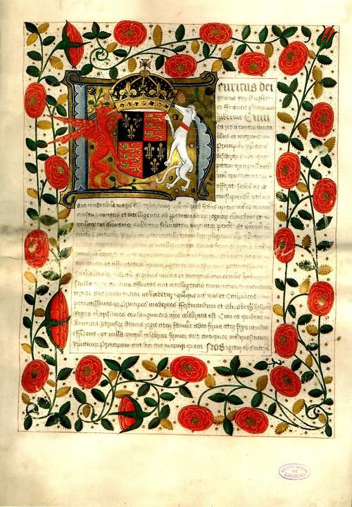 Marriage contract of Henry VIII and Katherine of Aragon, 1503 It - marriage contract