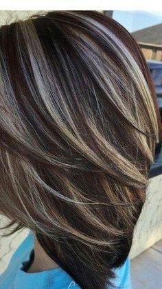 result dark brown hair