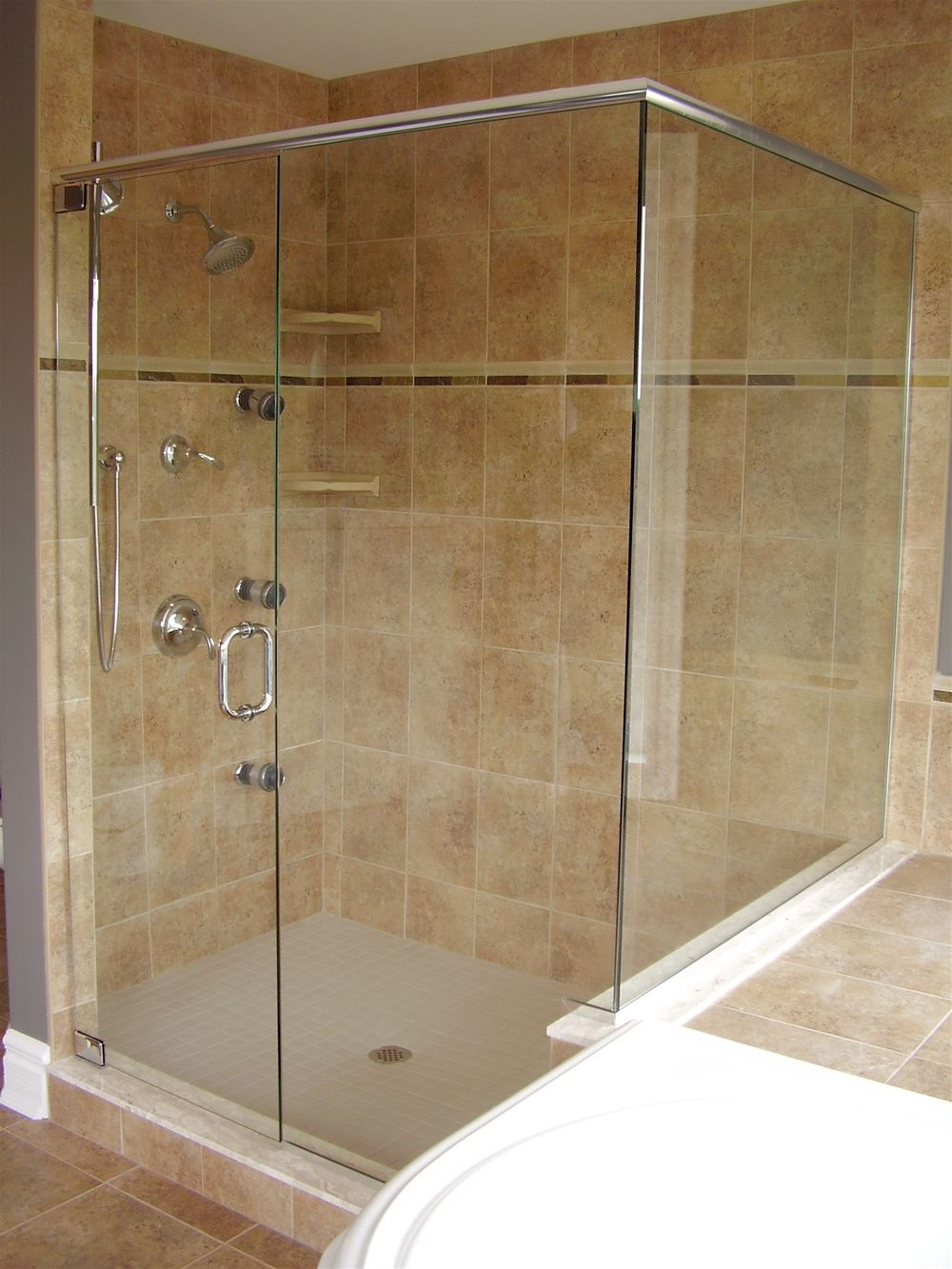 glass shower enclosures frameless | Now offering 10mm ShowerGuard ...