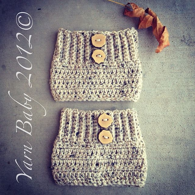 free Boot Cuffs pattern | COSAS QUE ME GUSTAN | Pinterest | Tejido ...