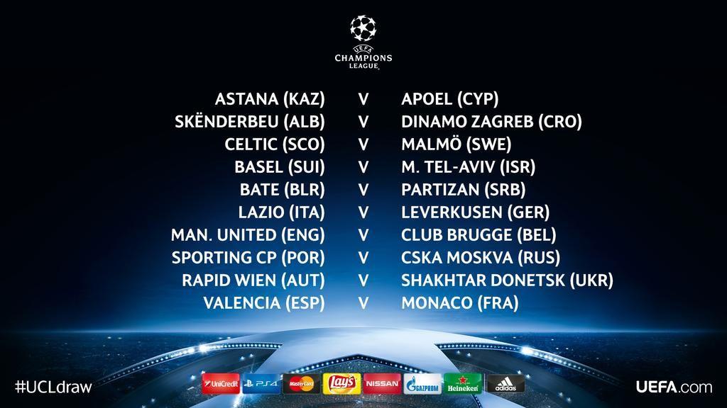 Uefa Champions League On Twitter Champions League Champions League Draw Uefa Champions League
