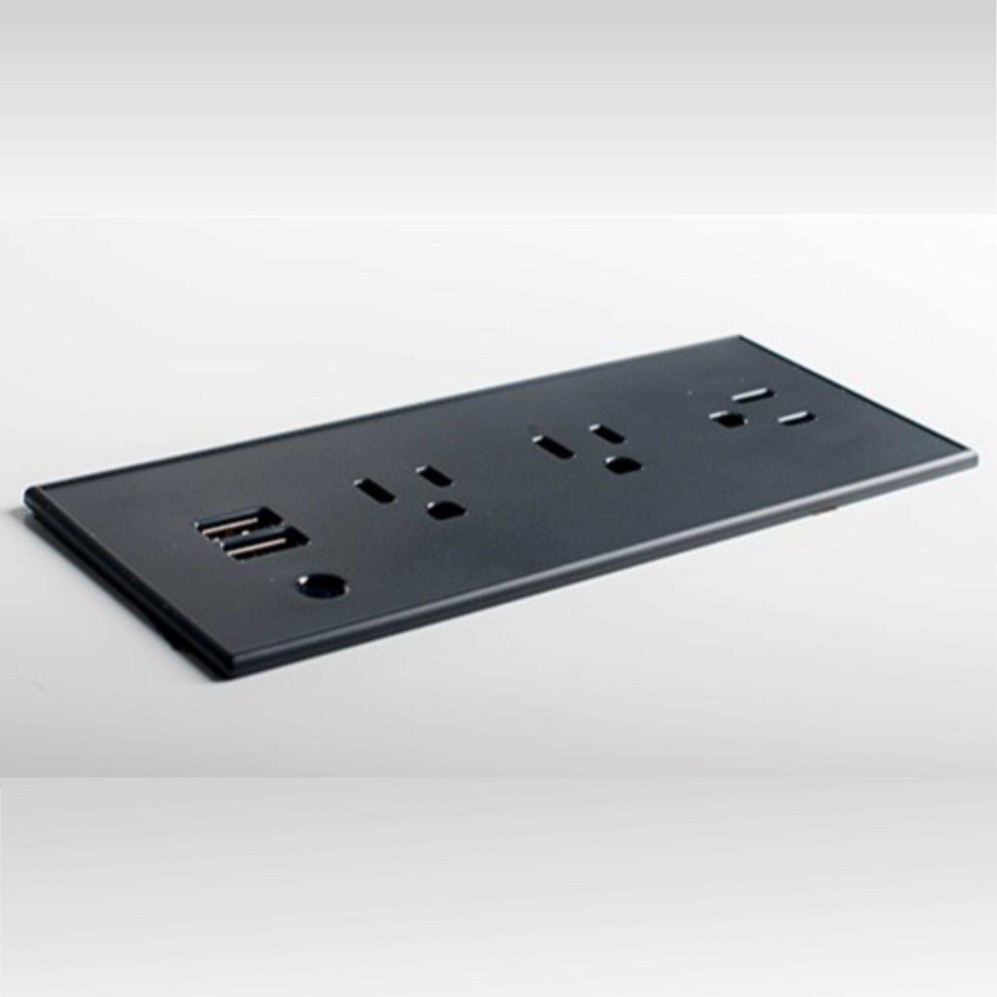 Flush Mount Power Strip With Outlets And Usb Ports Power Strip