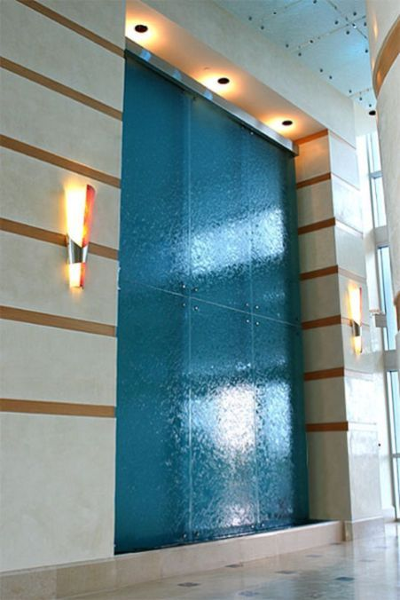Indoor Fountain Doubling As A Room Divider Indoor Water